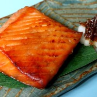 鮭の味噌漬けと鮭のかほり漬けうれしくいただきました