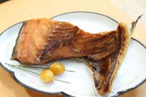 塩引鮭一鰭