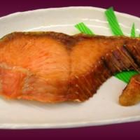 塩引鮭は噂通り美味しく感動です