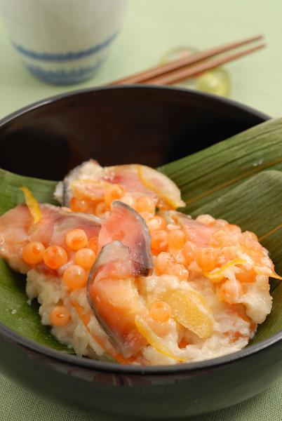 飯寿司、麹の味がよく結構なお味でした